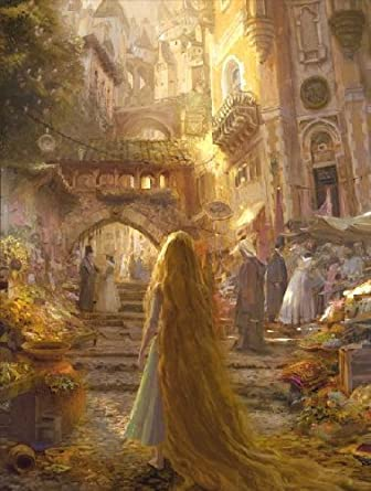 "Tangled: ""Beautiful Morning"" Limited Edition Giclée on Canvas"