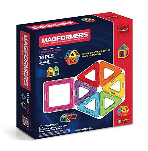 Magformers Standard Set (14-pieces) JungleDealsBlog.com