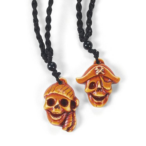 PIRATE NECKLACE (1 DOZEN) - BULK