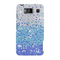 HHI Full Diamond Graphic Case For Motorola Droid RAZR MAXX HD - Blue Waterfall (Package Include A HandHelditems...