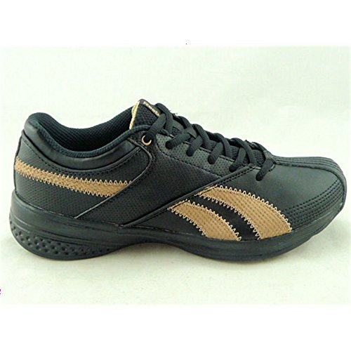 Reebok - Dynamic Step - Color: Black-Golden - Size: 10.0Us