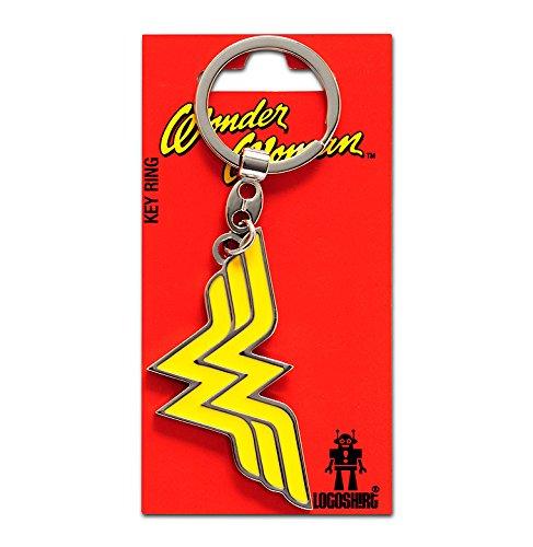 Portachiavi Wonder Woman Logo - Portachiavi DC Comics - Supereroe - Key-ring - colorato - Design originale concesso su licenza - LOGOSHIRT