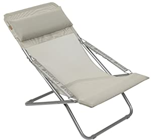 Lafuma Transabed XL + Classic Batyline Fold Up Chair Seigle       reviews and more information