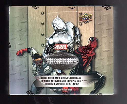 2015 Marvel Vibranium Trading Cards Factory Sealed Box (2015 Marvel Cards compare prices)