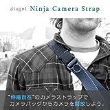 diagnl ダイアグナル Ninja Camera Strap ニンジャカメラストラップ 25mm コンパクトデジカメ用 Black ブラック カメラストラップ