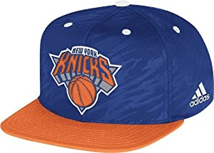 Adidas New York Knicks 2013 NBA Authentic On Court Snap Back Hat by adidas