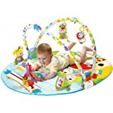 Baby Gym and Play Mat - Gymotion Activity Musical Playland with Accessories for Infants and Toddlers (0m+)