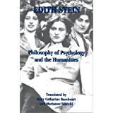 Philosophy of Psychology and the Humanities (Stein, Edith//the Collected Works of Edith Stein) (v. VII)