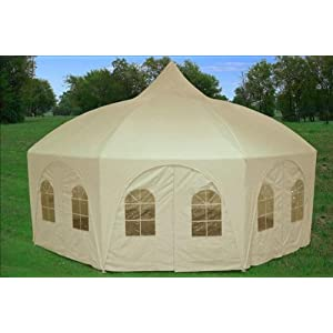 Click to buy Wedding Reception Decoration Ideas: Octagonal Wedding Gazebo from Amazon!