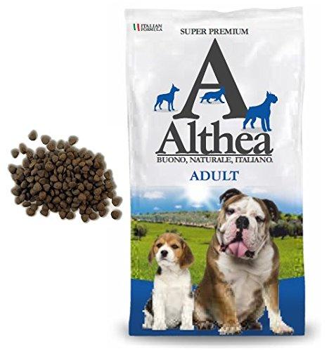 Althea Adult 15 kg - Crocchette alla carne per cani adulti di taglia media e grande, naturali al 100%