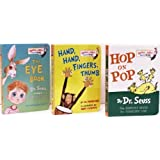 Hop on Pop / Hand, Hand, Fingers, Thumb / The Eye Book (Bright and Early Board Books, Pack E) ~ Dr. Seuss