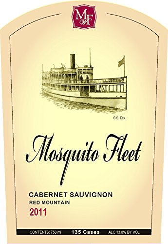 2011 Mosquito Fleet Winery Cabernet Sauvignon 750 Ml