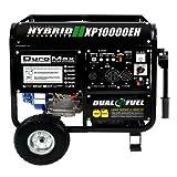 DuroMax Portable Duel Fuel Generator