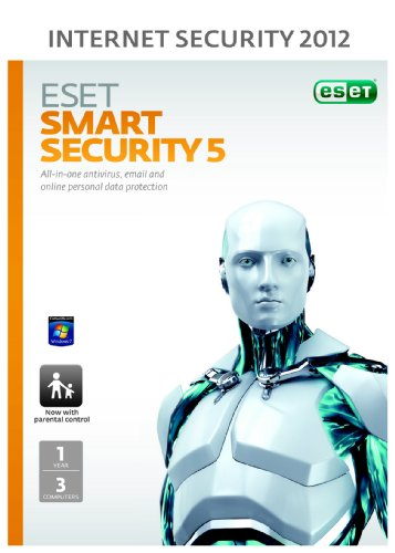 Eset Smart Security 3 User 1 Year (PC) Frustration free packaging