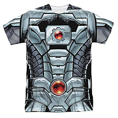 Justice League Cyborg All Over Print Front T-Shirt