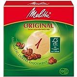 Melitta 2049662 Classic Filtre à Café Marron 100 Pièces