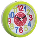 Kids Tell The Time Alarm Clock - Bright Green - 32538
