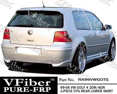 SS99VWGOTG-Volkswagen Golf 4 99-06 2dr/4dr VFiber FRP OTG 2-piece Side Skirts