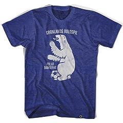 Greenland Polar Bear Soccer T-shirt