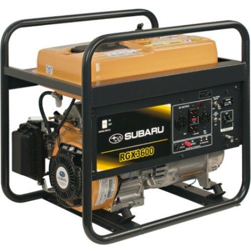 Subaru Rgx3600 Industrial Generator, 3600-Watt