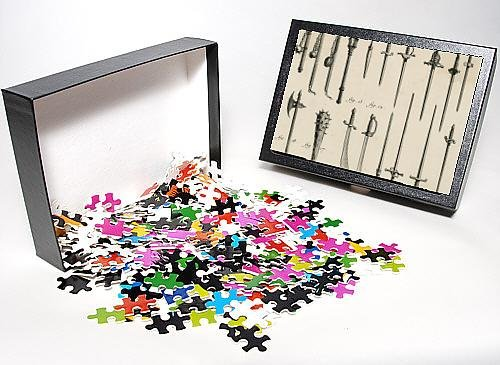Photo Jigsaw Puzzle Of Swords, Daggers, Maces From Mary Evans