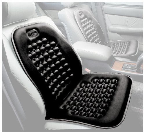 Wagan IN9236 Black Magnetic Bubble Seat Cushion