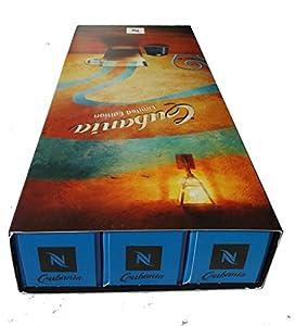 Nespresso Capsules Blue / brown - Cubania - Intensity 13 - New & Limited Original - 30 Capsules