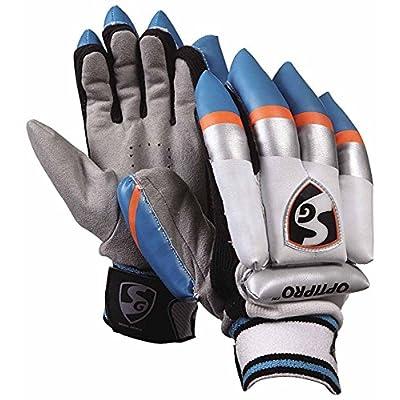SG Optipro Batting Gloves, Boy's (White)