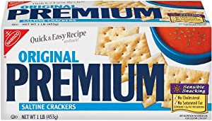 Nabisco Premium Saltine Crackers, 16-Ounce Boxes (Pack of 2)