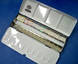 Schmincke Watercolors - Metal Box set of 12 Half Pans