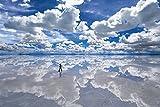1500スモールピース パズルの達人 世界の絶景 ウユニ塩湖-ボリビア (50x75cm)