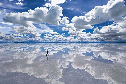 1500ピース ジグソーパズル パズルの達人 世界の絶景 ウユニ塩湖-ボリビア スモールピース(50x75cm)