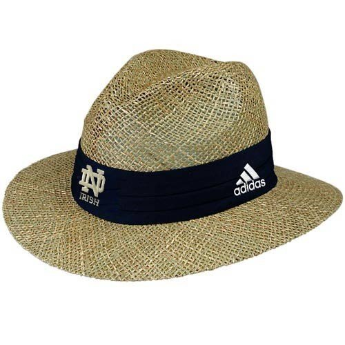 e4c2018de88df Notre Dame Discount: NCAA adidas Notre Dame Fighting Irish Straw Hat ...