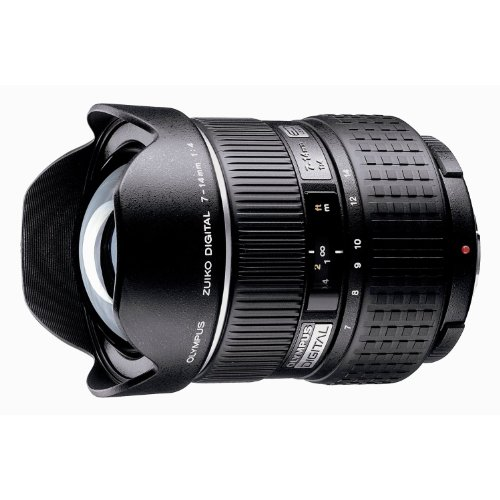 Olympus Zuiko 7-14mm f/4.0 Aspherical Super ED Lens for Olympus Digital SLR Cameras
