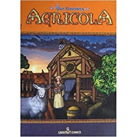 Agricola board game!