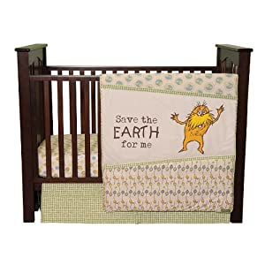 Trend Lab Dr. Seuss The Lorax 3 Piece Crib Bedding Set, Natural at Sears.com