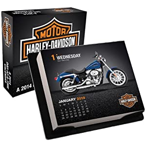 Amazon Com Harley Davidson 2014 Day At A Time Calendar