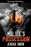 img - for Malice's Possession (The Brothers of Menace MC Book 1) book / textbook / text book