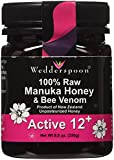 Wedderspoon - Organic Manuka Honey KFactor 12 w/Bee Venom-8.8 oz