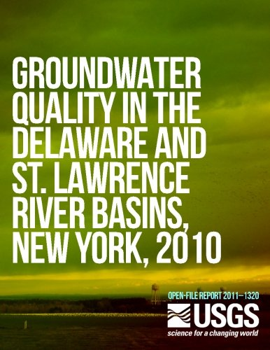 Groundwater Quality in the Delaware and St. Lawrence River Basins, New York, 2010 PDF
