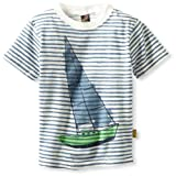 Charlie Rocket Boys 2-7 Sailboat Stripe Tee