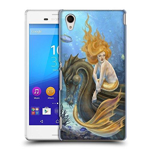 Ufficiale Selina Fenech Mari illuminati Sirene Cover Retro Rigida per Sony Xperia M4 Aqua