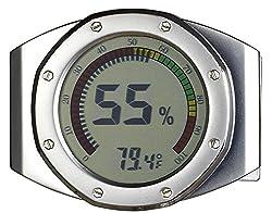 Visol UltraModern Circular Digital Hygrometer