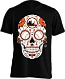 San Francisco Giants Sugar Skull Men's Shirt (Large, Black)