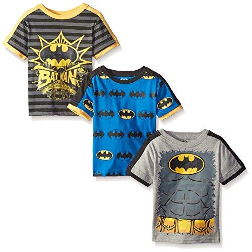 Batman Little Boys' Batman Tees(Pack of 3) at Gotham City Store