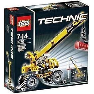 Amazon.com: Lego Technic Rough Terrain Crane 8270: Toys & Games