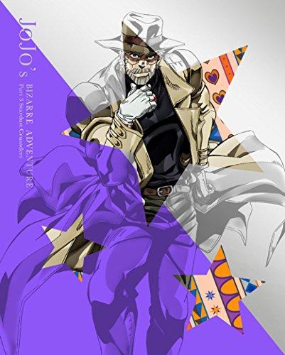 【Amazon.co.jp限定】ジョジョの奇妙な冒険スターダストクルセイダース Vol.2 (オリジナルデカ缶バッチ付 ジョセフver) (イベント応募券、サウンドトラック付)(初回生産限定版) [Blu-ray]
