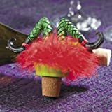 FALLEN WICKED WITCH WINE BOTTLE STOPPER ~ HALLOWEEN PARTY SUPPLIES ~ HOLIDAY FUN