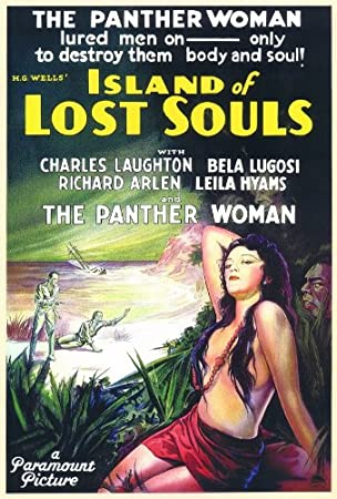 Island of Lost Souls 11 x 17 Movie Poster - Style A