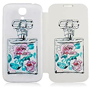 CaseBox Perfume Bottle Pattern Full Body Case for Samsung Galaxy S4